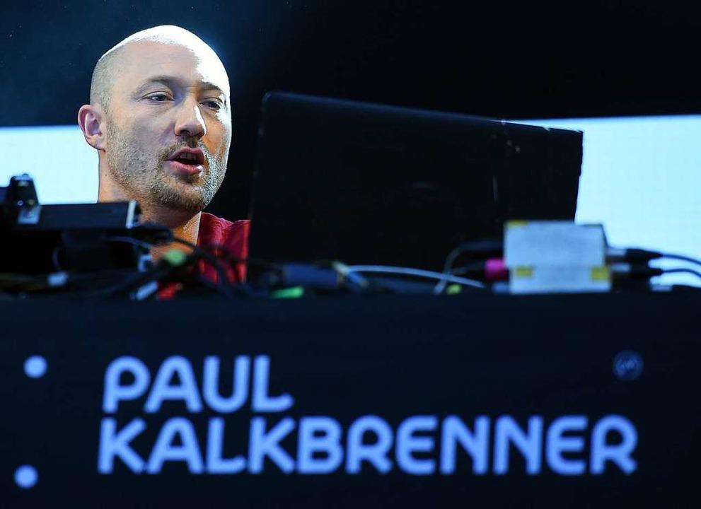 Paul Kalkbrenner (Archivfoto von 2016)  | Foto: Britta Pedersen