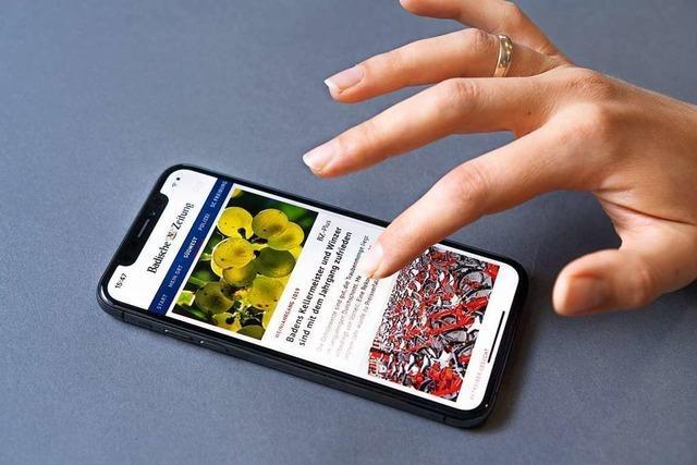 Mobil, schnell, einfach und regional: Die neue BZ-Smart-App ist da