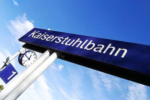 Die Kaiserstuhlbahn Ost fährt vorerst nur werktags unter Strom