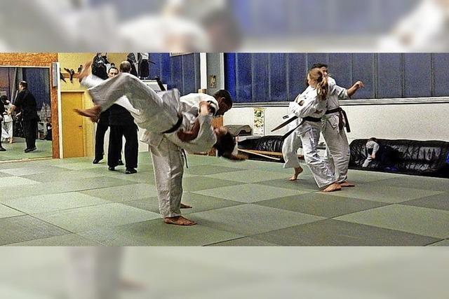Junge Karate-Meister