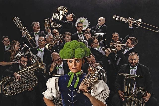 Black Forest Brass band in Kirchzarten