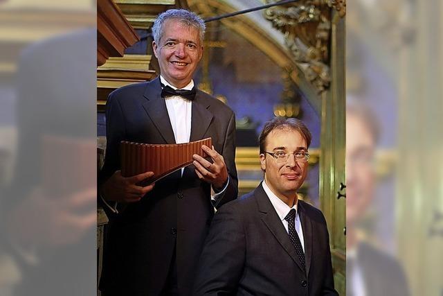 Philippe Emmanuel Haas und Emmanuel Schublin konzertieren in Lörrach-Rötteln