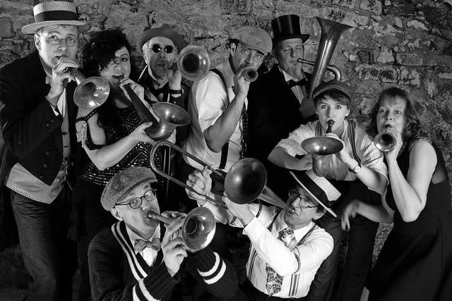The Croonies treten in der Stadthalle Tiengen auf