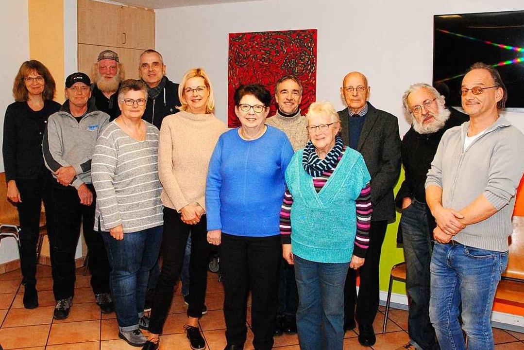 Pfarrerin Dagmar Jetter, Arno Widmann,...en sich für Wohnsitzlose und Arme ein.    Foto: Norbert Sedlak