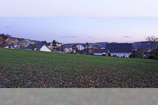 Rotzel bekommt ein Neubaugebiet
