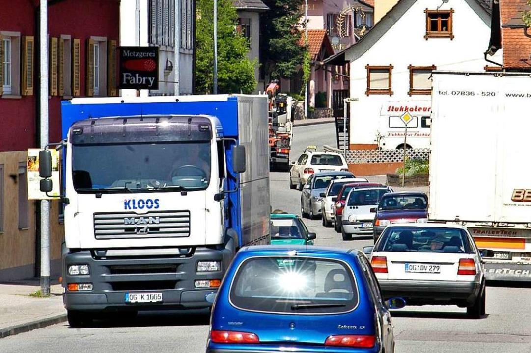 Dieses Bild gibt es während der Sanier...dürfen nicht durch Reichenbach fahren.    Foto: Michael Bamberger