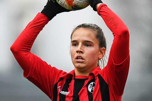 Naomi Megroz wurde auf Anhieb Stammspielerin bei den SC-Frauen