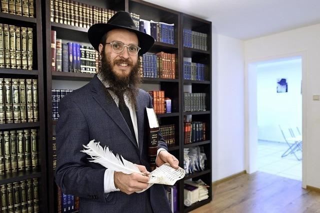 Chabad-Gemeinde feiert