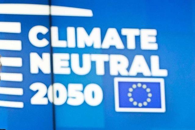 EU will 2050 klimaneutral wirtschaften