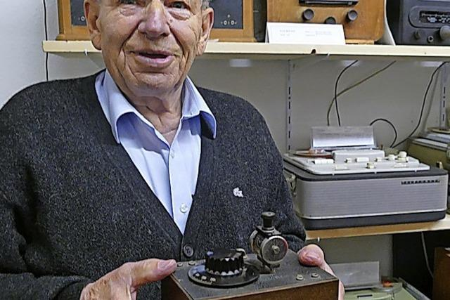 Trauer um den Gründer des Radiomuseums