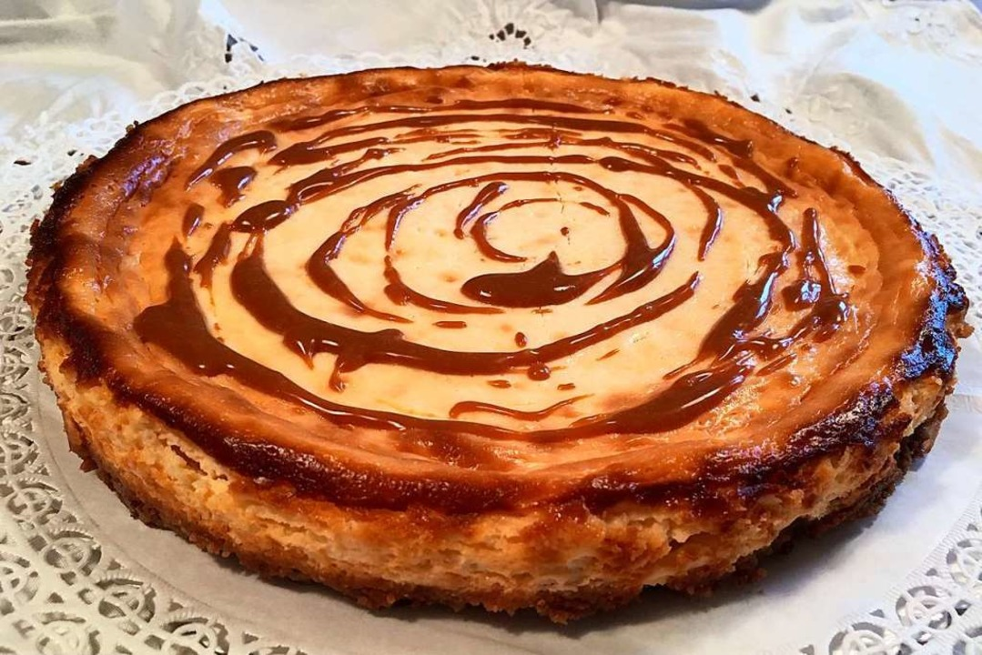 New York Cheesecake mit Karamell  | Foto: Hans-Albert Stechl