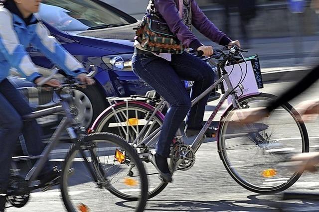 Viele Unfälle wegen Radlern