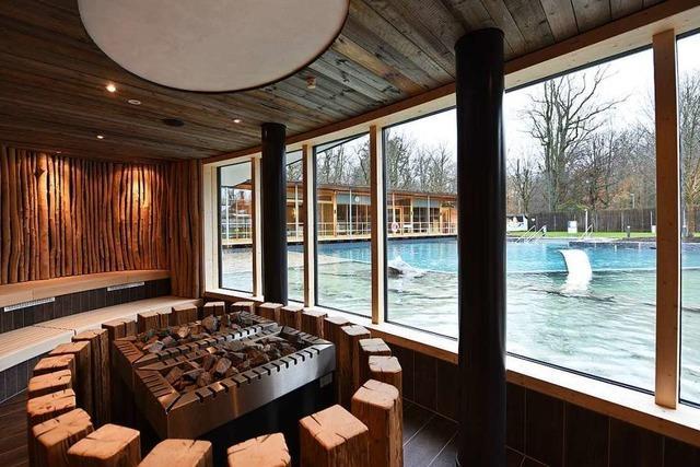 Neue Saunen, neuer Teich, neue Preise: Das hat sich im Keidel-Bad geändert