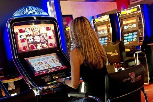 Beim Glücksspiel verdient die Stadt Mahlberg kräftig mit