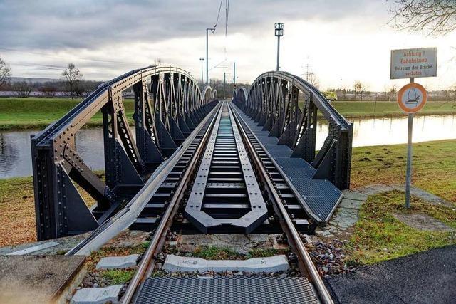 Vor 125 Jahren wurden Teilstrecken der Kaiserstuhlbahn eingeweiht