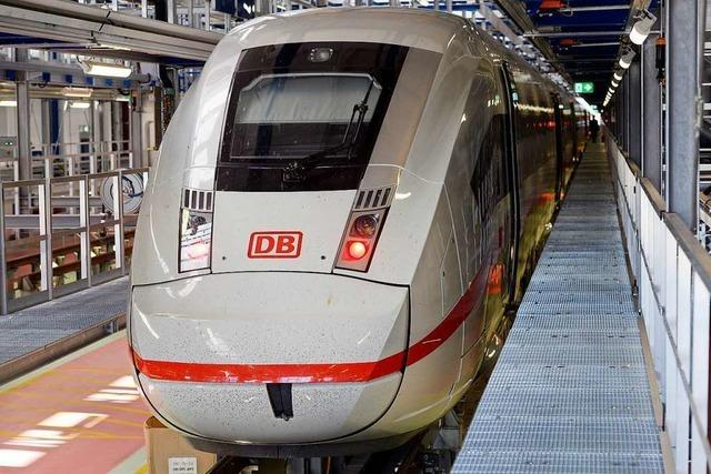 Ab Sonntag fahren ICE-4-Züge auf der Strecke Hamburg–Basel