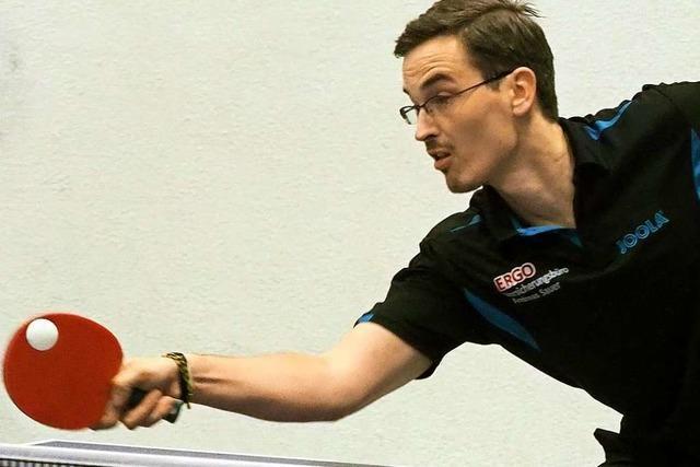 Ein Eschbacher mischt im deutschen Para-Tischtennis ganz vorne mit