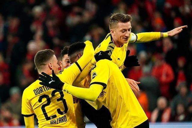 Bayern München und Borussia Dortmund gewinnen deutlich