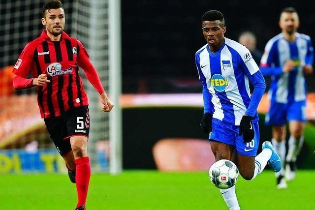 Fotos: Freiburg ist gegen Hertha BSC besser, verliert aber trotztdem