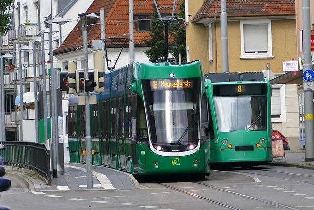 Die Tram 8 hat sich als innerstädtisches Verkehrsmittel in Weil am Rhein etabliert