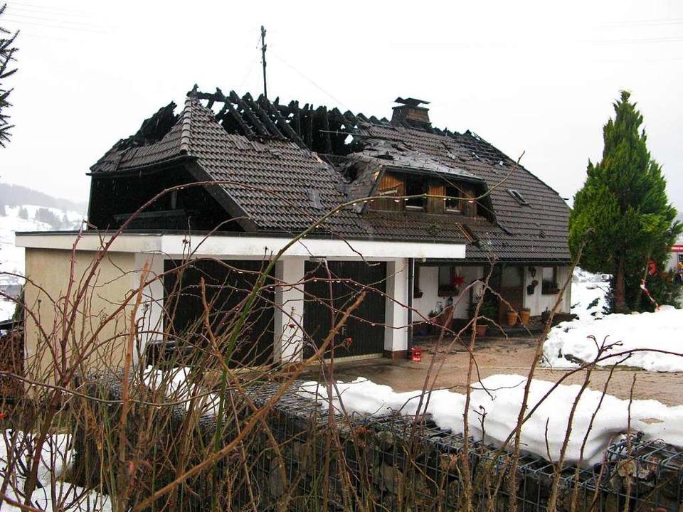 Am Sonntagmorgen zeigte sich das  ganze Ausmaß des Schadens.   | Foto: Ulrike Spiegelhalter