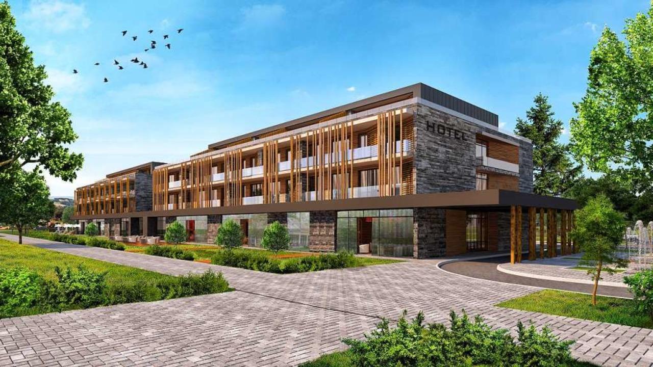 So könnte das Hotel am Kirchzartener Kurhaus aussehen.  | Foto: Investor