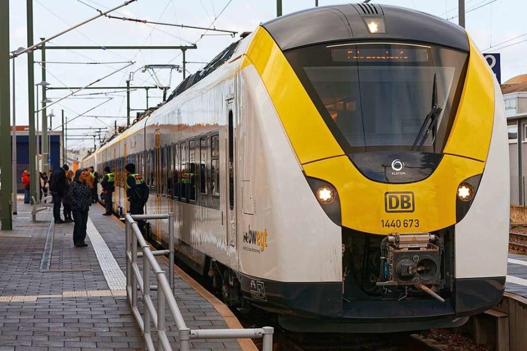 Ausfälle gab es bei der Breisgau-S-Bahn.  | Foto: Martin Wendel