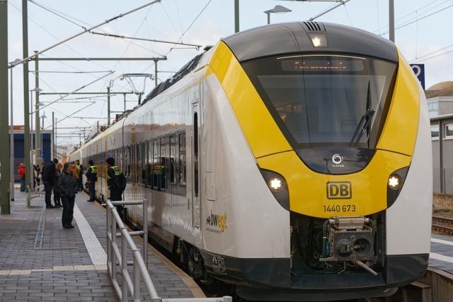 Zugausfälle und Verspätungen auf der Strecke der Höllentalbahn