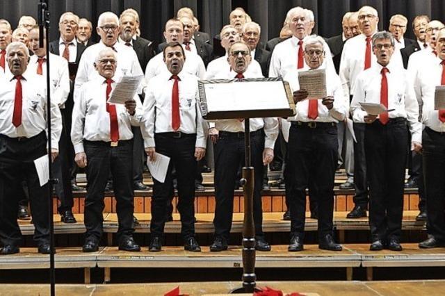 Sänger stimmen auf den Advent ein