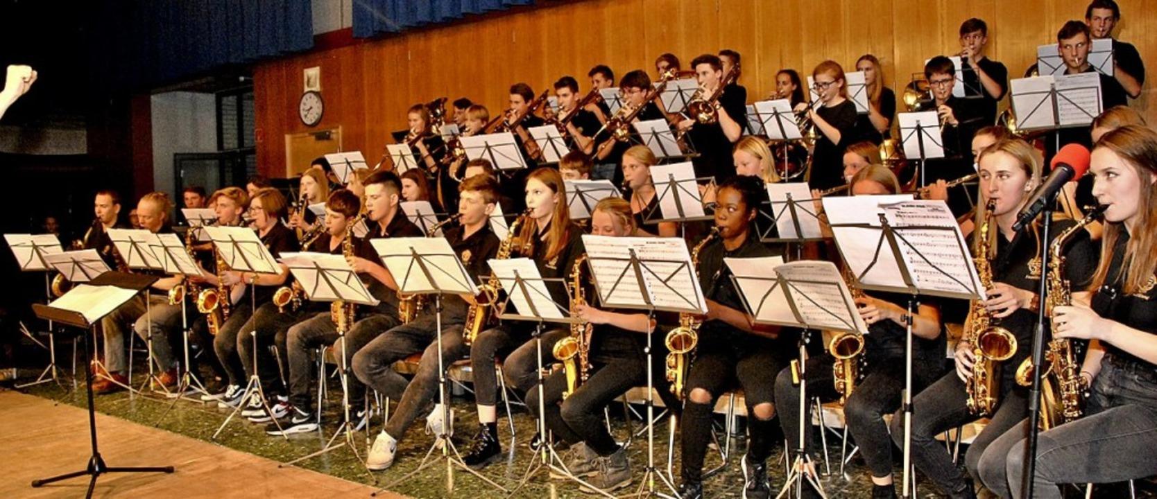 Die Faust-Band unter Leitung von Jürge... wie die anderen Gruppen zu gefallen.   | Foto: Friederike Zimmermann