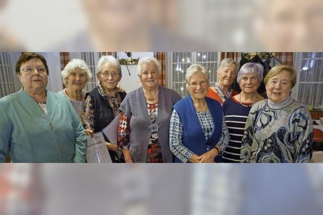 50, 60 und mehr Jahre bei den Landfrauen aktiv