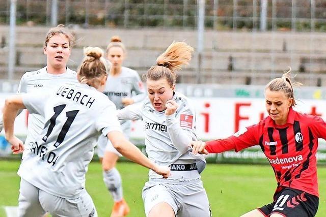 Frauen des SC Freiburg kommen über ein 1:1 gegen Leverkusen nicht hinaus