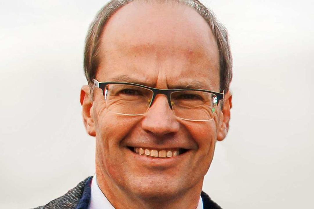 Christian Renkert wird neuer Bürgermeister von Schliengen.  | Foto: Alexander Huber