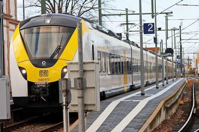 Fehlstart für neue Breisgau-S-Bahn: Keine Züge, keine Infos