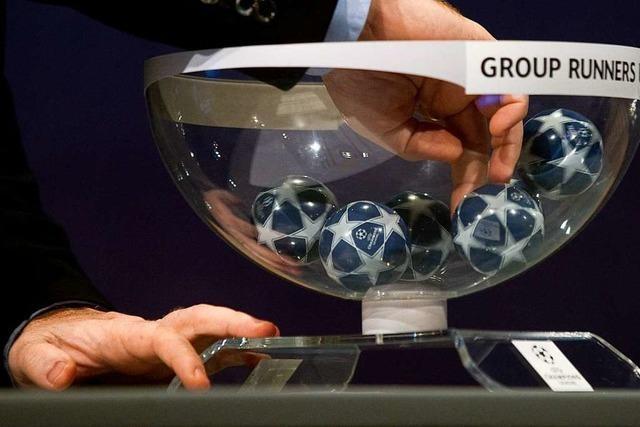 Liveticker zum Nachlesen: Auslosung fürs Champions-League-Achtelfinale