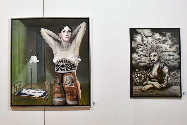 Die Winterausstellung in der Kulturfabrik bietet mehr Schönes als Unheimliches