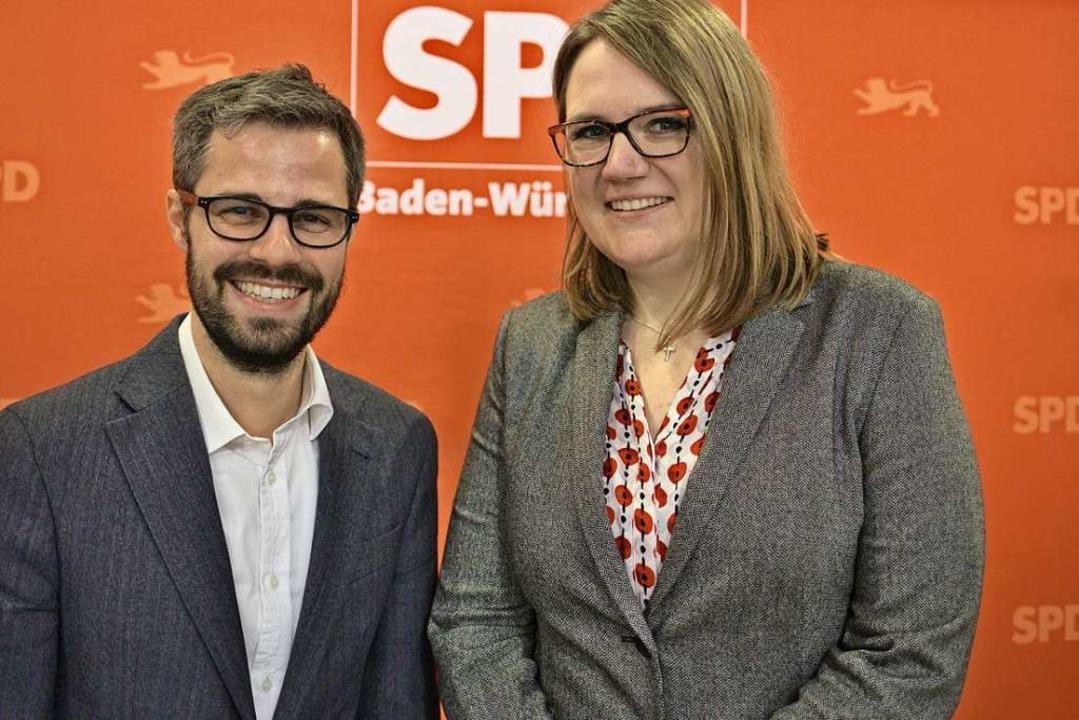Julien Bender ist  seit 2015 Kreisvors...sam mit Viviane Sigg die SPD Freiburg.  | Foto: Ludwig Striet, SPD Freiburg