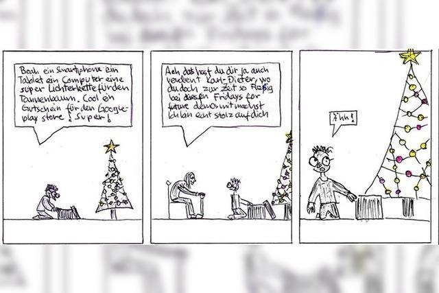 Konsumrausch an Weihnachten