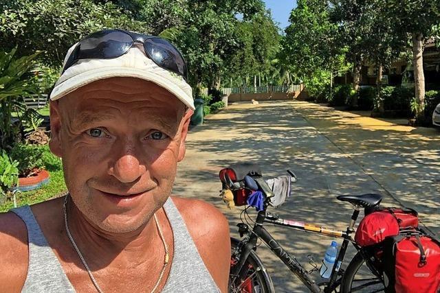 Mit dem Fahrrad um den Globus