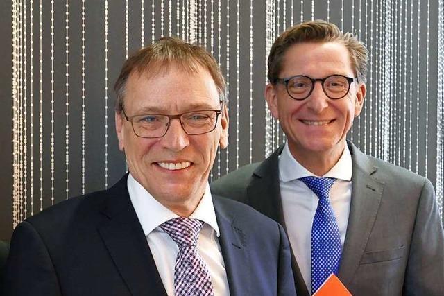 Rainer Liebenow beerbt André Marker als Vorstandsvorsitzender
