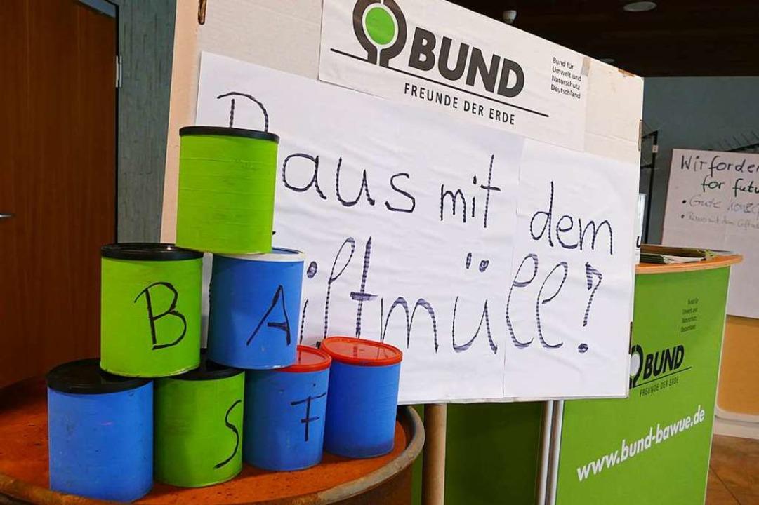 BUND und die übrigen Kläger fordern einen Totalaushub.  | Foto: Verena Pichler
