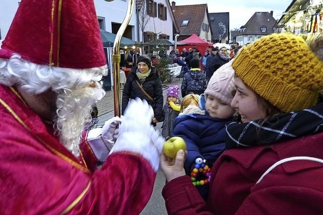 Das Unterdorf im Weihnachtszauber