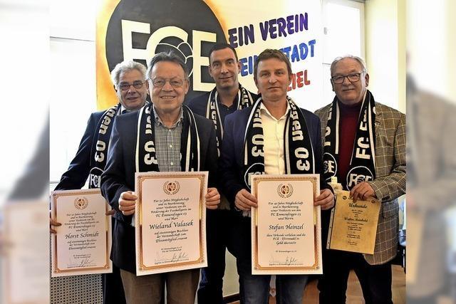FCE hat zwei neue Ehrenmitglieder