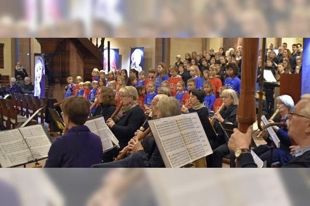Eine Predigt mit Worten und Musik
