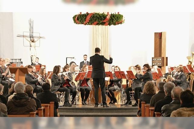 Musikverein füllt die Kirche