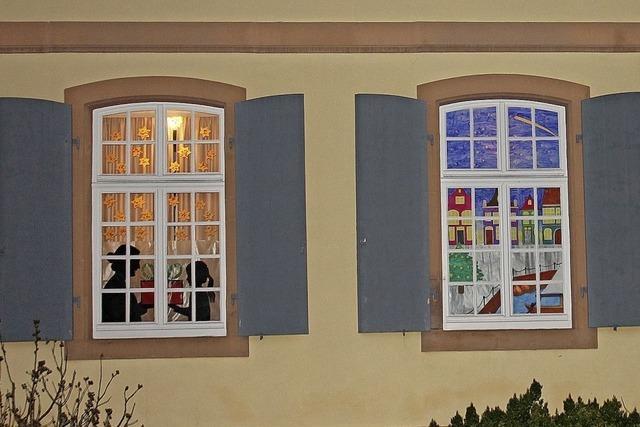 Adventsfenster in Wittenweier
