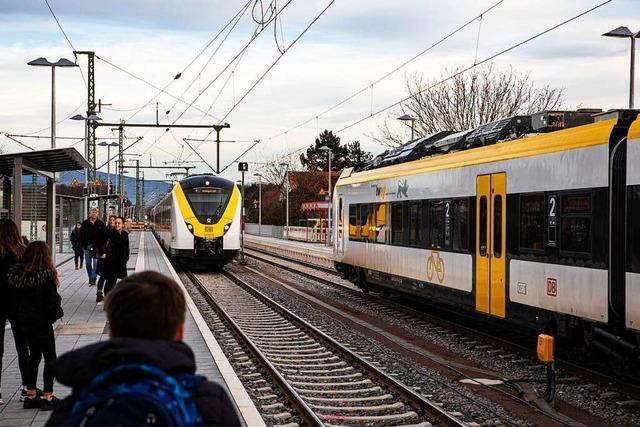 Erster Werktag nach Einweihung der Breisgau-S-Bahn gleicht einer Pannenserie