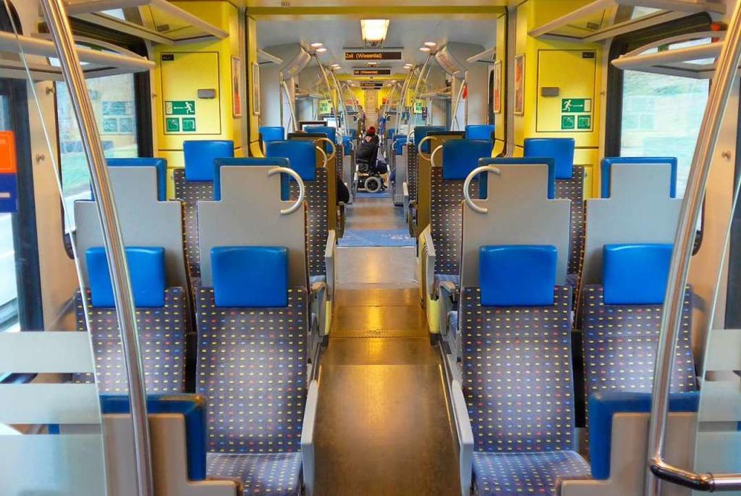 In der Regio S-Bahn kam es am Nikolaustag zu einer Schlägerei (Symbolfoto).  | Foto: Daniel Gramespacher