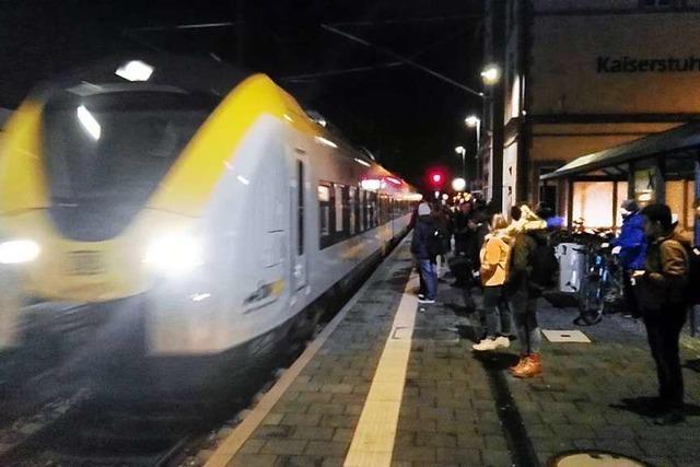 Auf der Breisgau-S-Bahn läuft weiterhin nicht alles rund