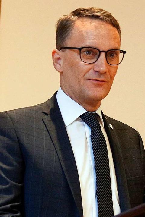 Oberbürgermeister Markus Ibert    Foto: Heidi Fößel